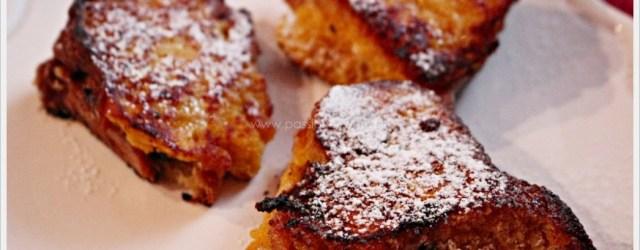 french toast al pandoro