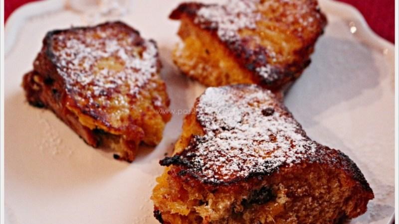 French toast al pandoro: come riciclare gli avanzi