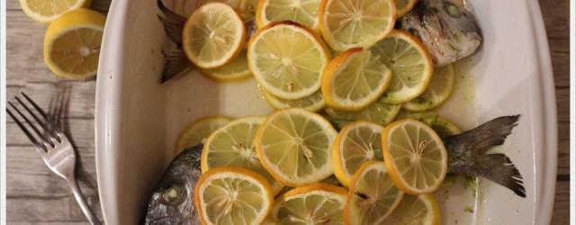 orata al limone