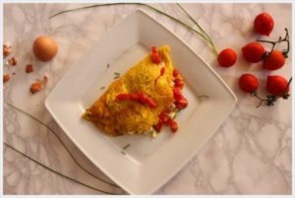 ricetta omelette alla pizzaiola