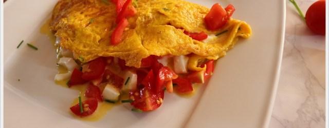 ricetta omelette alla pizzaiola provenza