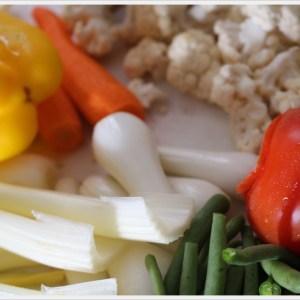 Conserve di verdure sott'olio: la giardiniera