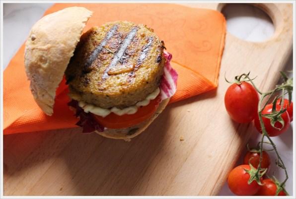 ricetta hamburger di verdure