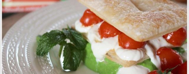 ricetta millefoglie salata