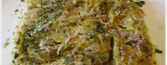 ricetta lasagne alla crema di zucchine
