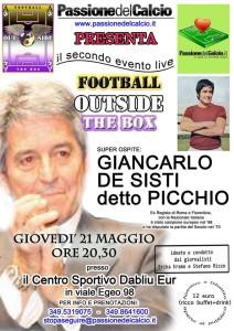 Locandina Picchio De Sisti 21.05.2015