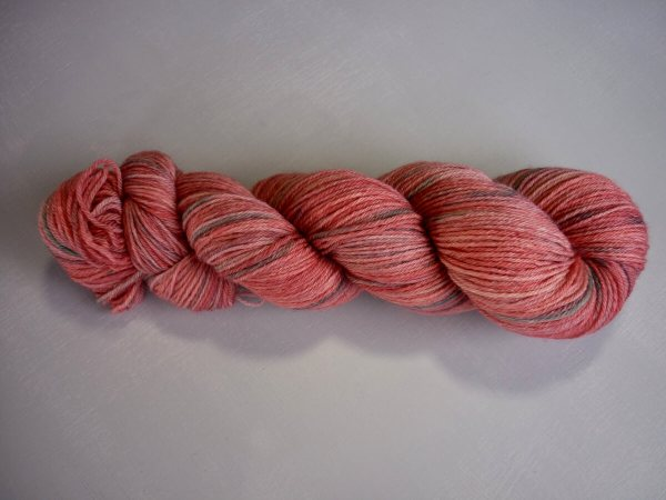 Flowering Gum sock yarn horizontal