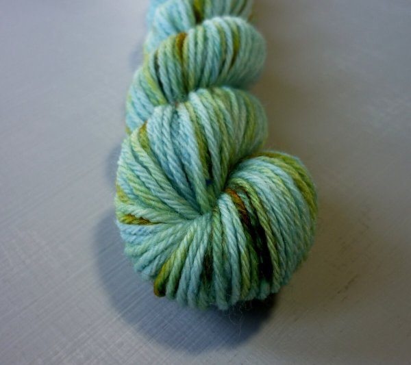 Iris mini skein close up