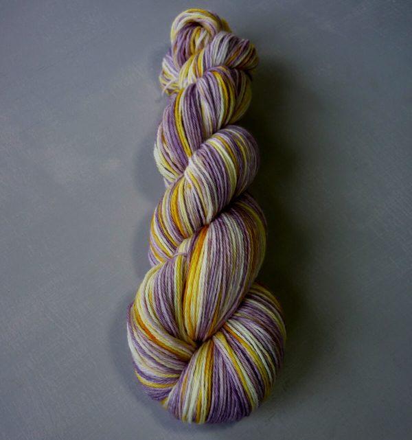pansy sock yarn horizontal