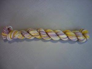 Pansy mini skein flat lat horizontal