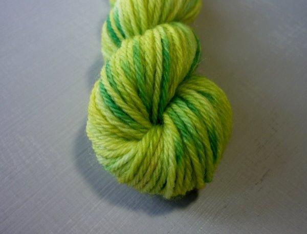 Wattle mini skein close up