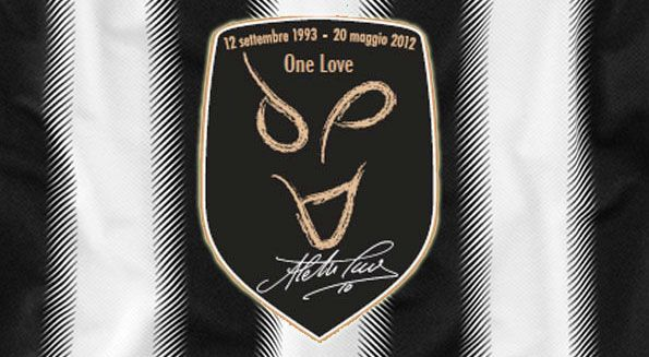 Patch celebrativa Del Piero maglia Juventus
