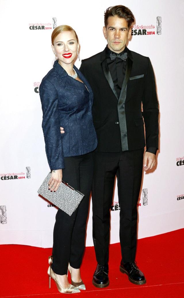 scarlett johansson e fidanzato