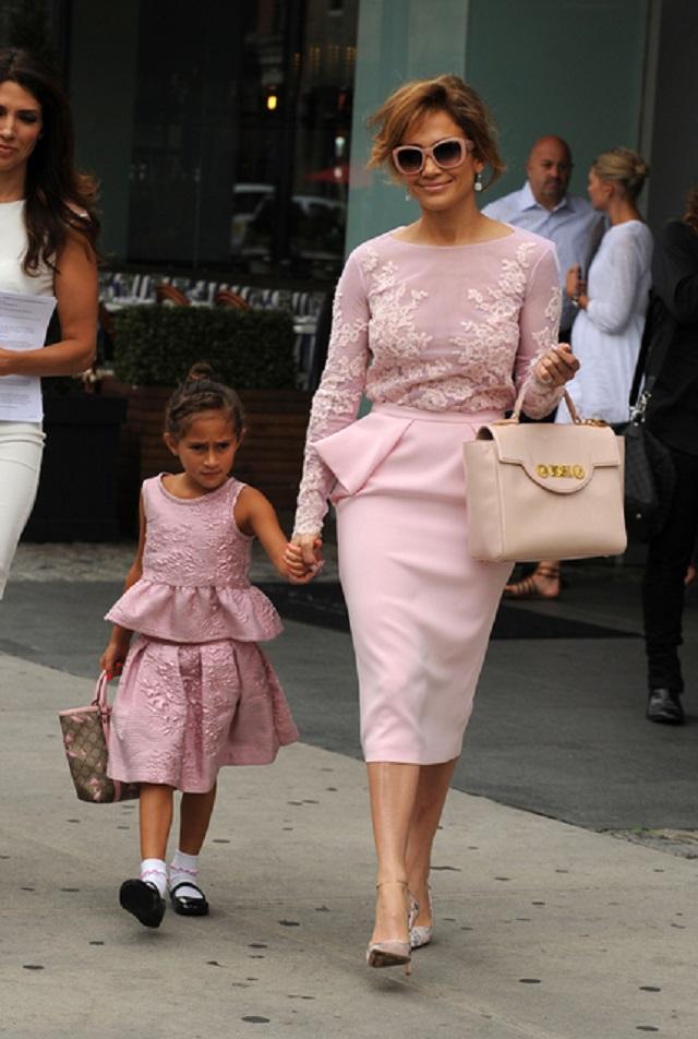 Jennifer Lopez e figlia