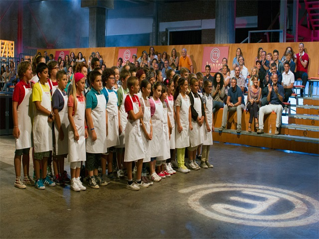 masterchef junior studio
