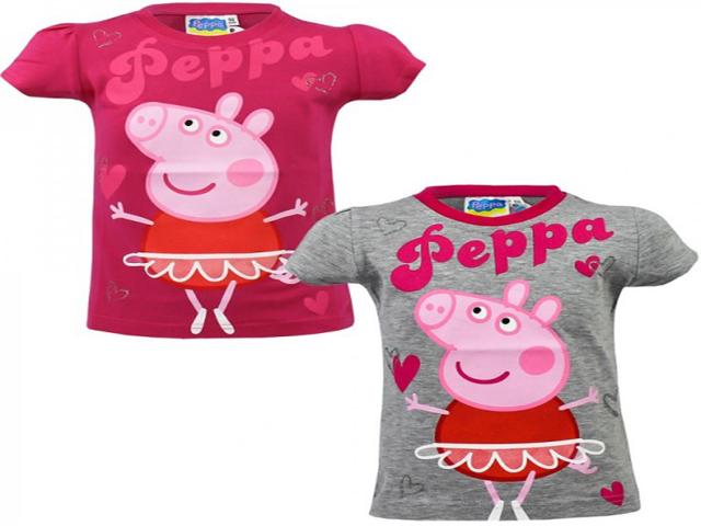 magliette peppa