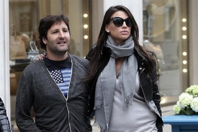 Arnaud Mimran e Claudia Galanti