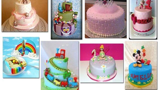 Primo Compleanno Idee Per La Torta Passione Mamma