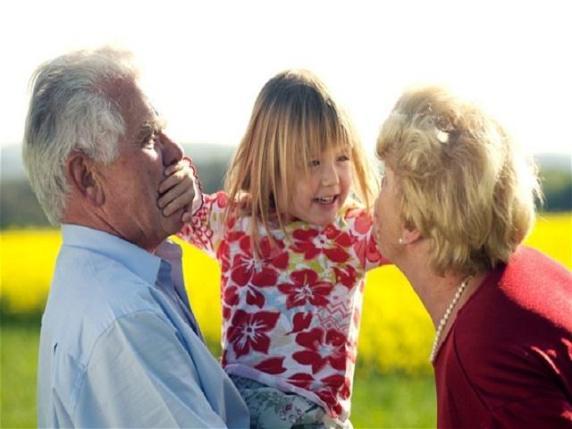 baci nonni nipoti