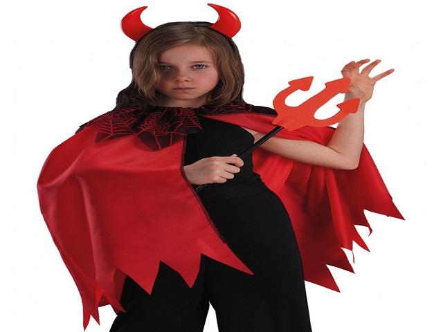Préférence Costumi Halloween bambina fai da te - Passione Mamma VM31