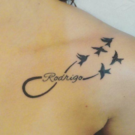 tatuaggi dedicati ai figli