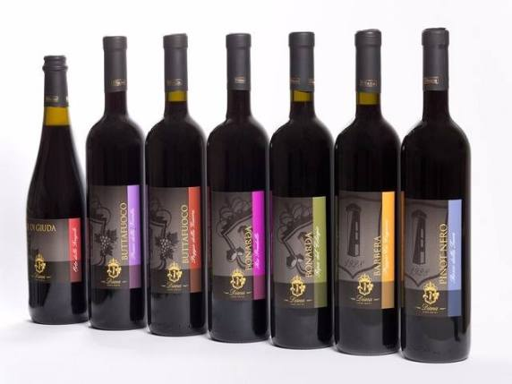 bottiglia di vino