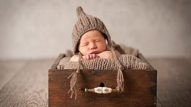 set fotografico neonato