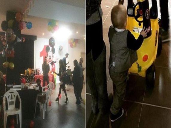 festa figlio compleanno marco bocci