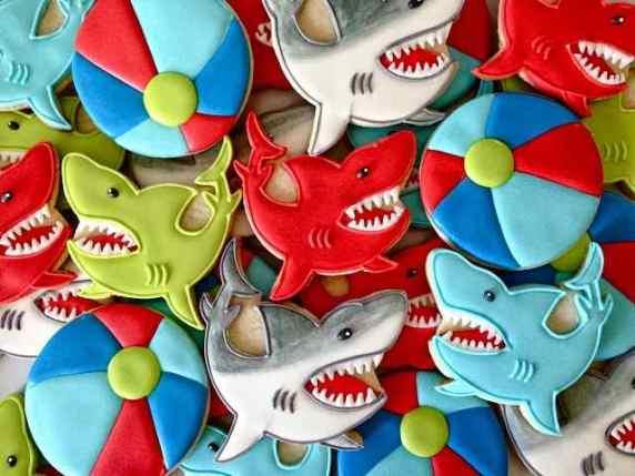 dolci a forma di squalo