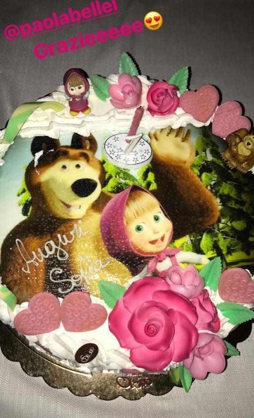 Torta primo compleanno dei figli vip idee da copiare