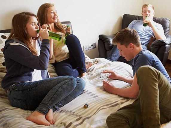 alcolici e giovani