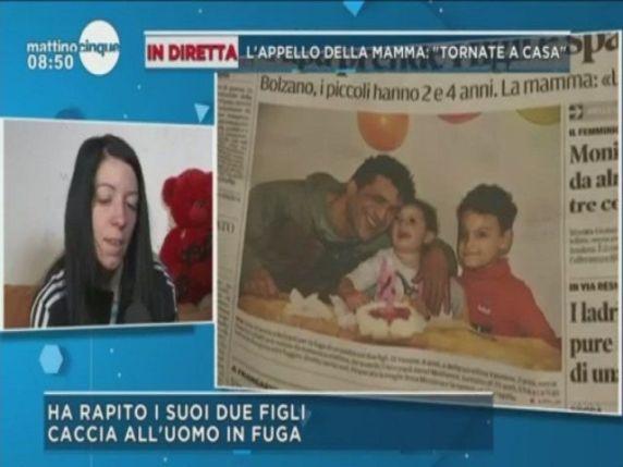 bambini rapiti padre