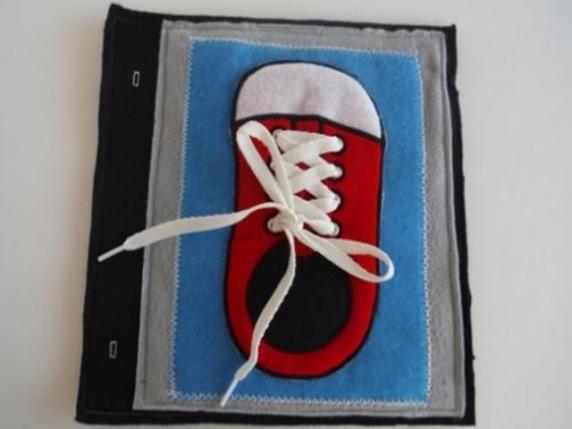 scarpa in tessuto
