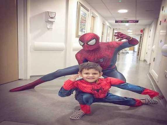 Spiderman consola i bambini