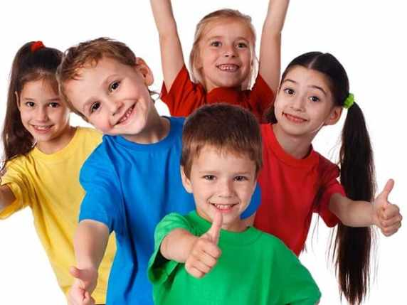 foto bambini felici