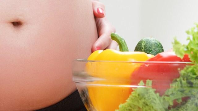 Foto gravidanza e cibo