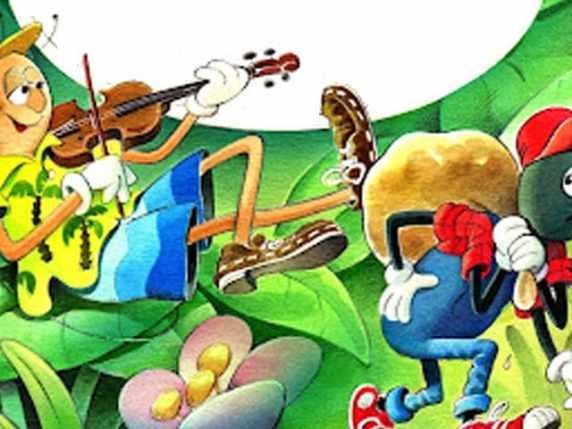 La cicala e la formica: la fiaba per bambini che insegna la prudenza