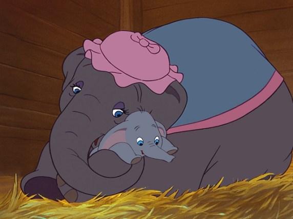 foto Dumbo e mamma