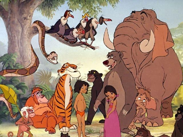 Il libro della giungla personaggi canzoni e morale della favola