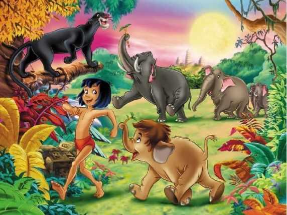 foto il libro della giungla mowgli