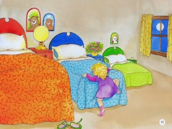 Riccioli doro: la storia il messaggio e i video per bambini