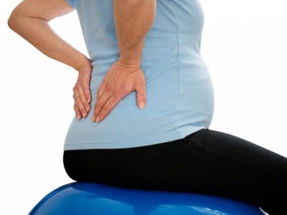 foto schiena in gravidanza
