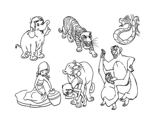 Foto immagini da colorare Disney