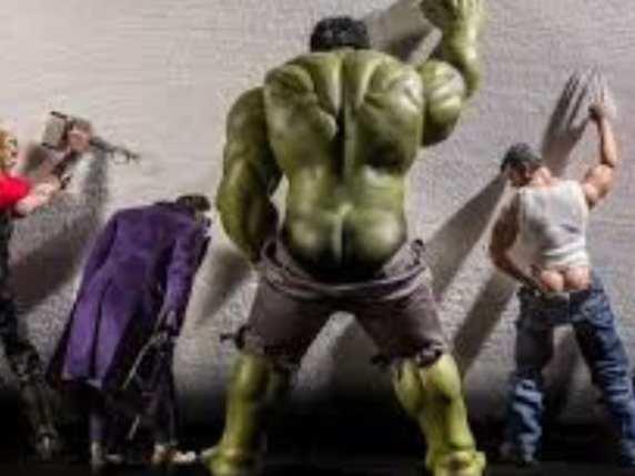 foto divertentissime supereroi