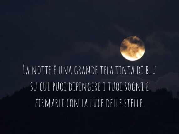 foto immagini buonanotte luna e parole