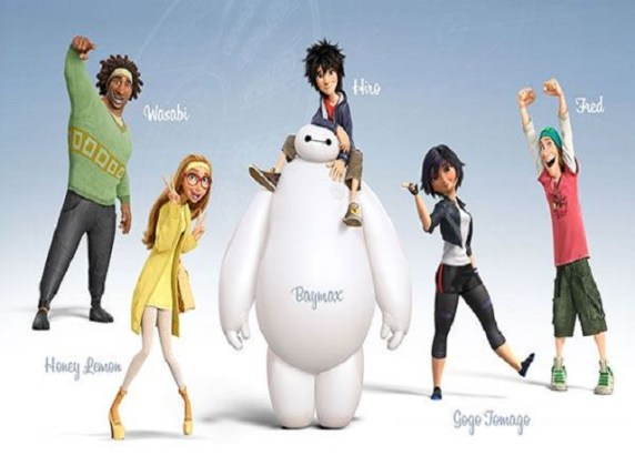 Foto personaggi Big Hero6