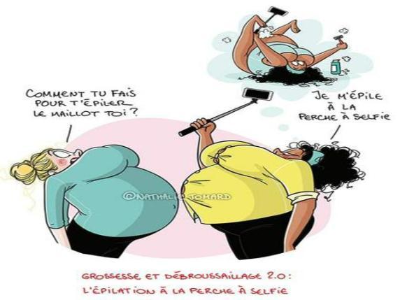 depilazione in gravidanza