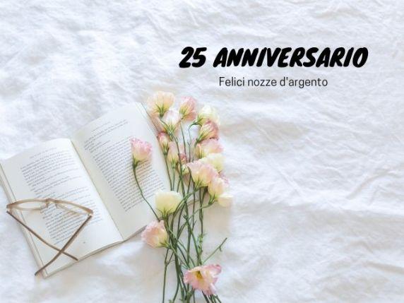 frasi 25 anni di matrimonio