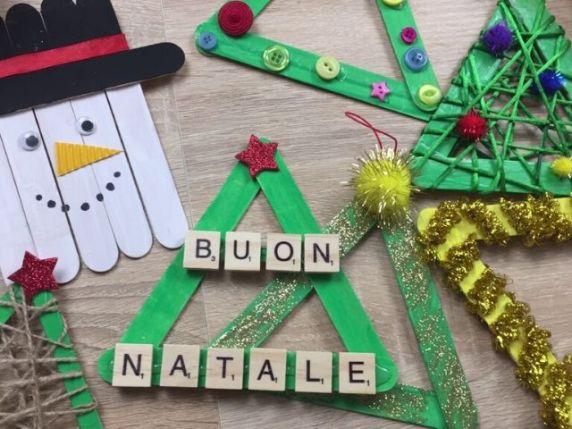oggetti natalizi stecche