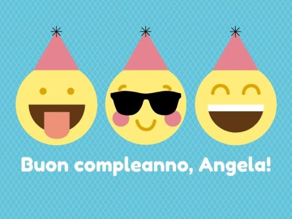 buon compleanno angela